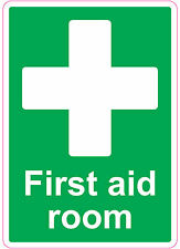 FIRST AID ROOM health and safety signs stickers Medical 205x290mm