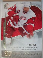 2008-09 UPPER DECK SP AUTHENTIC NICKLAS LIDSTROM # 135, DETROIT !! BOX 7