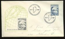 GREENLAND 1967 DIVER BIRD + RAVEN 90o ILLUSTRATED FIRST DAY COVER