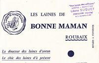 Buvard   Les Laines de Bonne Maman Roubaix