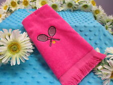 Embroidered / Personalized Tennis Towel/HOT New Colors