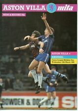 Aston Villa Teams A-B Division 1 Football Programmes