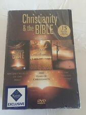 NEW Christianity & The Bible (15 DVDs ) ancient secrets of the bible, 2000 yrs o