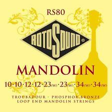 More details for rotosound traditional instruments string set mandolin phosphor bronze