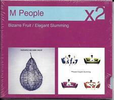 2 CD M PEOPLE BIZARRE FRUIT/ELEGANT SLUMMING 25 TITRES NEUF SCELLE