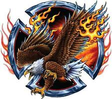 FLAMING EAGLE - DECAL 200mm x 200mm - DECAL