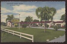 Postcard St. Petersburg Fl Kentucky Derby Motel #2
