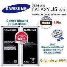 Batteria Samsung Galaxy J5 2016 J510 SM-J510f 3100 mAh EB-BJ510CBE Originale