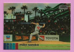 2020 Topps Stadium Club Mike Soroka #76 Atlanta Braves