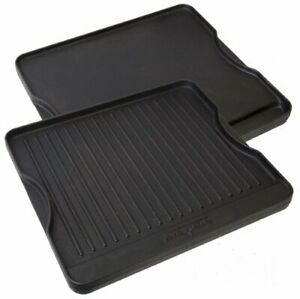 Camp Chef Reversible Pre-Seasoned Cast Iron Griddle, Cooking Surface 14 in. x 16