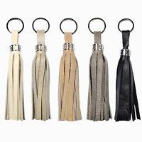Leather Tassel Keychain, Leather Tassel Key Ring, Leather Tassel For Handbag