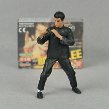 """4"""" Bruce Lee Kung Fu action figure toy Fist of Fury as Chen Zhen"""