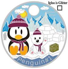 Penguins Pathtag Set GEOCACHING Includes 4 Penguin #1 Tags Pathtags Lot Geocoin