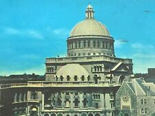 Vintage Postcard Mother Church Christian Science Boston MA 26253
