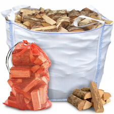 More details for premium kiln dried hardwood logs firewood wood open fire stoves log burner