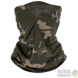 Camouflage Neck Gaiter Tube Scarf Snood Mask Airsoft Paintball Army UK