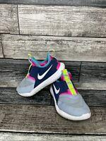 Nike Toddler Kid's Flex Runner TD Sneakers AT4665-403 Obsidian Mist/White Sz 9C