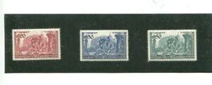Liechtenstein Scott 154-156 MNH VF
