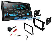 NEW KENWOOD CAR STEREO RADIO WITH SIRIUS XM AND INTALLATION KIT FOR VOLKSWAGEN