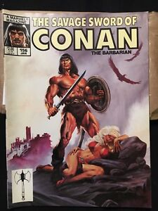 The Savage Sword of Conan The Barbarian #156