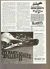 Vintage Original 1983 Ad REMINGTON Model R1173 Baby Bullet Pocket Knife