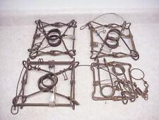 4 Conibear Traps 3 Belisle 220s Mfg Canada 1 Duke 160 Duke Trapping Trap