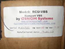 Rampart (RCU-VBS) Control Panel