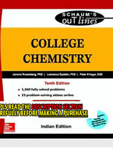 FAST SHIP: College Chemistry (Schaums Outline  10E by Jerome Rosen