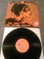 VIRGO RISING - THE ONCE & FUTURE WOMAN (SONGS OF SISTERHOOD) LP U.S THUNDERBIR