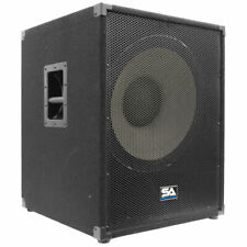 "SEISMIC AUDIO 18"" PA POWERED SUBWOOFER Active Speaker"