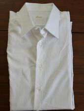 Brioni Dress White Dress Shirt sz 17 43cm Made in Italy Kiton Wedding Business
