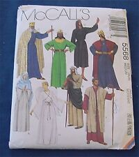 McCall's Pattern 5568  CHRISTMAS PAGEANT Misses Men's Costumes Size Medium 36 38