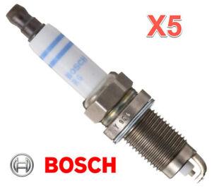 5 Spark Plugs BOSCH For VW OEM # FR7HE02 Beetle Golf Jetta Passat 2.5L 5 cyl