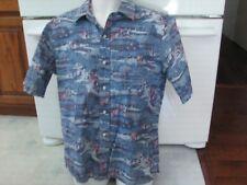 Kapalua Golf resort Maui Kahala vintage reverse print men's XL shirt golfing