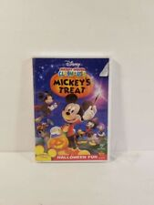 Mickey Mouse Clubhouse - Mickey's Treat Halloween (Dvd) New + Free Shipping