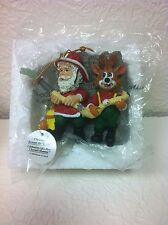 CHRISTMAS AROUND THE WORLD FIREFIGHTER ORNAMENT BRAND NEW IN BOX