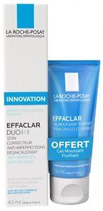 LA ROCHE-POSAY Effaclar Duo[+] Cream 40ml + Effaclar Gel 50ml