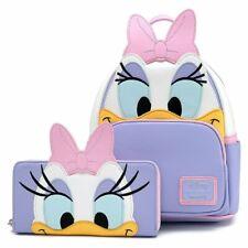 Loungefly x Disney Daisy Duck Cosplay Mini Backpack + Zip Around Wallet
