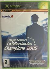 Roger Lemerre la Sélection 2005 Xbox Neuf Sous Blister