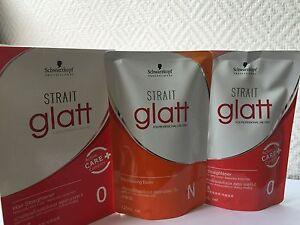 Schwarzkopf STRAIT Glatt 0 Hair Straightener Very Cruly / Naturally Frizzy Hair