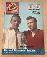 Deutsche Fußball-Meisterschaft 1959 Geburtstag 60