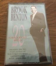 "Brook Benton ""20 Greatest Hits"" NEW & SEALED Tape Cassette"