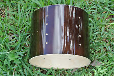 """PDP by DW CONCEPT BIRCH 10"""" TOM SHELL ONLY TRANS WALNUT for YOUR DRUM SET! #J847"""