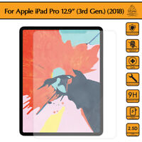Gorilla Tempered Glass Screen Protector Shield Guard iPad Pro 12.9 3rd Gen 2018