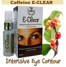 DARK Circle Wrinkle Powerful Puffiness Eye SERUM 100% Caffeine Coffee Extract