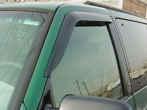 Tape-On Wind Deflectors: 1985-2005 Chevy Astro Van