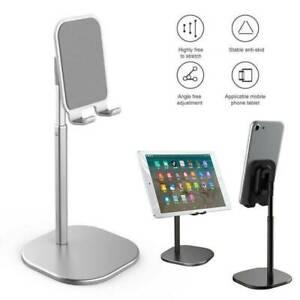 Universal Aluminum Adjustable Tablet& Cell Phone Desk Desktop Mount Stand Holder
