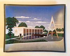 1964-65 New York World's Fair Masonic Brotherhood Center Tray