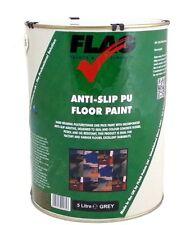 Flag Anti-Slip Non-Slip PU Polyurethane Floor Paint - 5 Litre