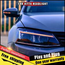 For VW JETTA  Headlights assembly Bi-Xenon Lens Double Beam HID KIT 2012-2016